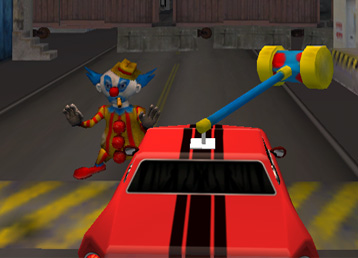 Screenshots of Sparky the Road Clown Game / App