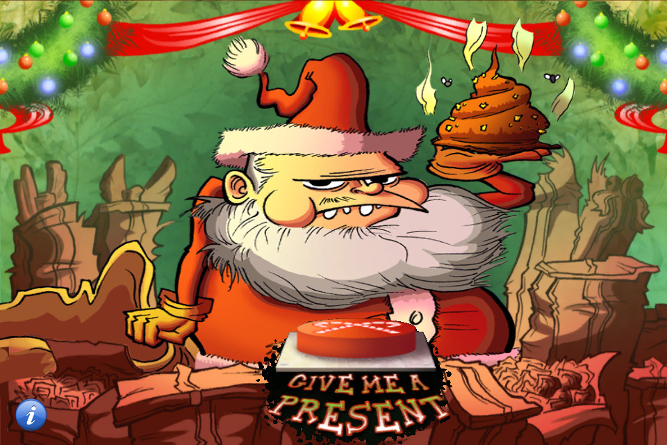 Funny Santa Claus Prank iPhone App